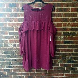 """Old Navy Women's """"Cold Shoulder⁷ Dress"""
